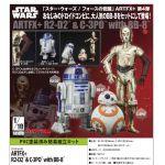 Star Wars - R2-D2 & C-3PO with BB-8 ARTFX+ Statues (Kotobukiya)