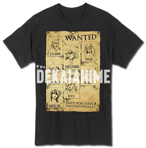 Seven deadly sins wanted posters amazon