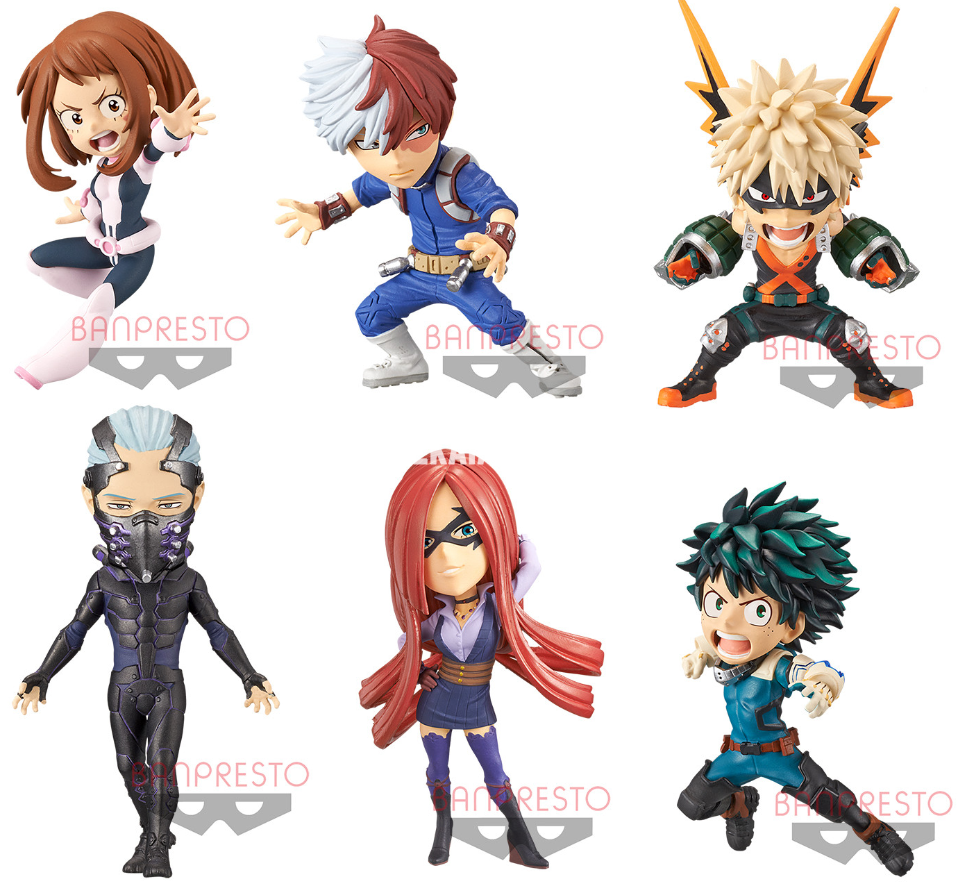 Figures My Hero Academia Heroes Rising World Collectable Figure Dekai Anime Officially Licensed Anime Merchandise