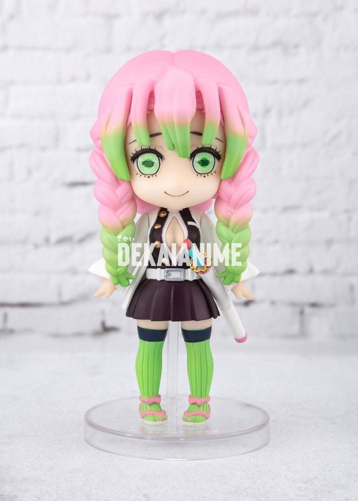 Demon Slayer Kimetsu No Yaiba Mitsuri Kanroji Figuarts Mini Action Figure During her battle against upper rank 4, hantengu's hatred clone, zohakuten, mitsuri had unconsciously awakened and obtained her demon slayer mark, that takes the form of two hearts upside down and opposite from each other with angel wings on both sides where the two heart. demon slayer kimetsu no yaiba mitsuri kanroji figuarts mini action figure