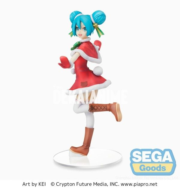 Miku Figure Christmas 2021 Vocaloid Hatsune Miku Christmas 2021 Ver Spm Figure Sega